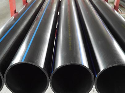 Difference between PE water supply pipe and PE drain pipe