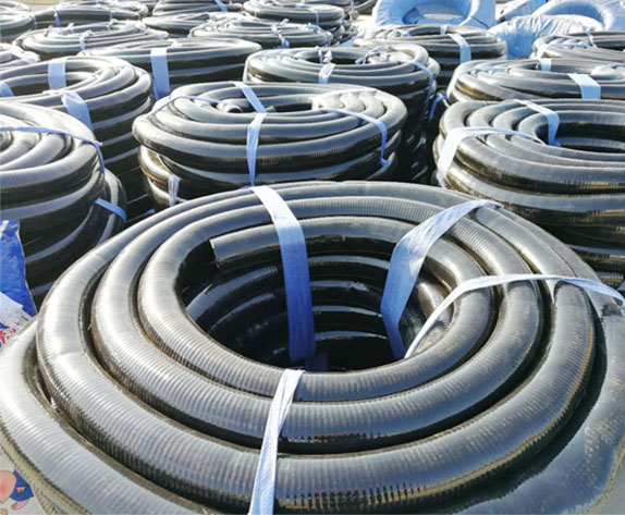 Steel Wire Skeleton Polyvinyl Chloride (PVC) Pipes For Coal Mine