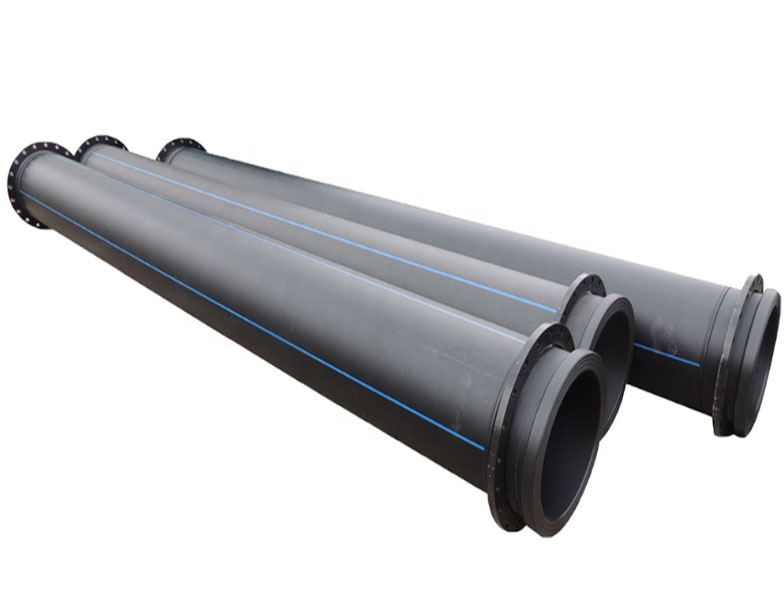 HDPE Dredging Pipes with Flange ( discharge of sediment)