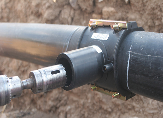 HDPE Pipes Used As Buried Gas Pipes