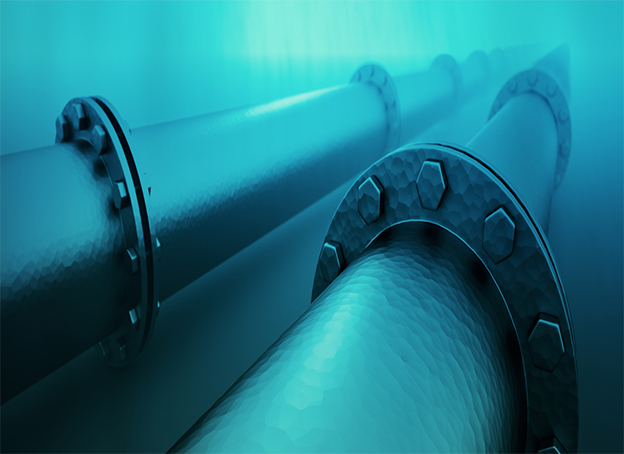 HDPE pipes for Undersea Gas Pipeline