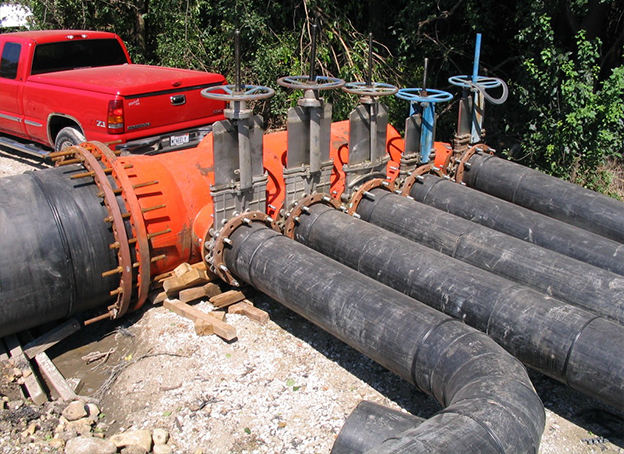 HDPE Pipes For Natural Gas Distrubution