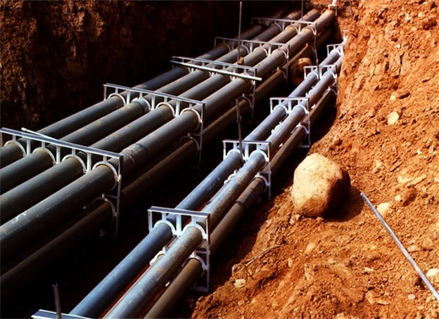 PVC Pipes for Chemical Sewage