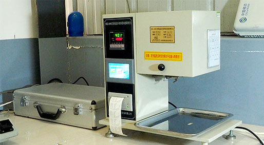 Melt mass flow rate tester