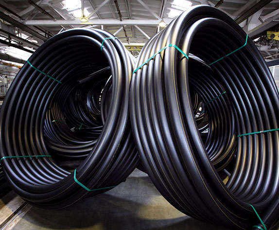 HDPE Pipes For Underground Coal Mine Gas Drainage